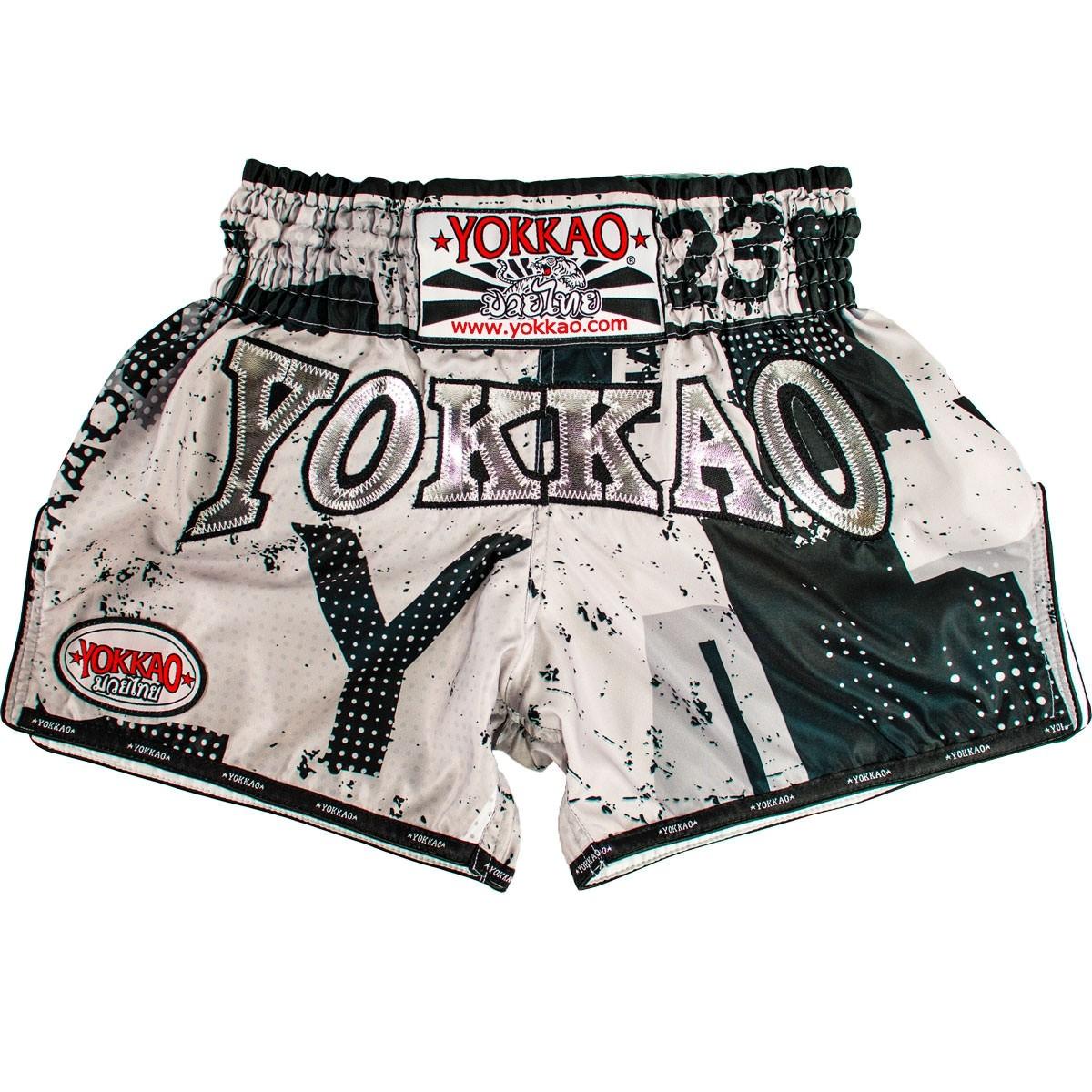 Yokkao Shorts Carbonfit Urban Grey Muay Thai Store