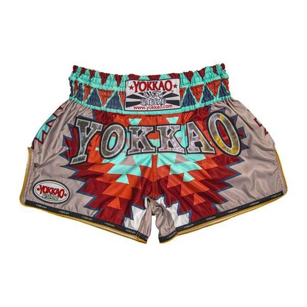 YOKKAO CarbonFit Frost Pink Muay Thai Shorts Kids