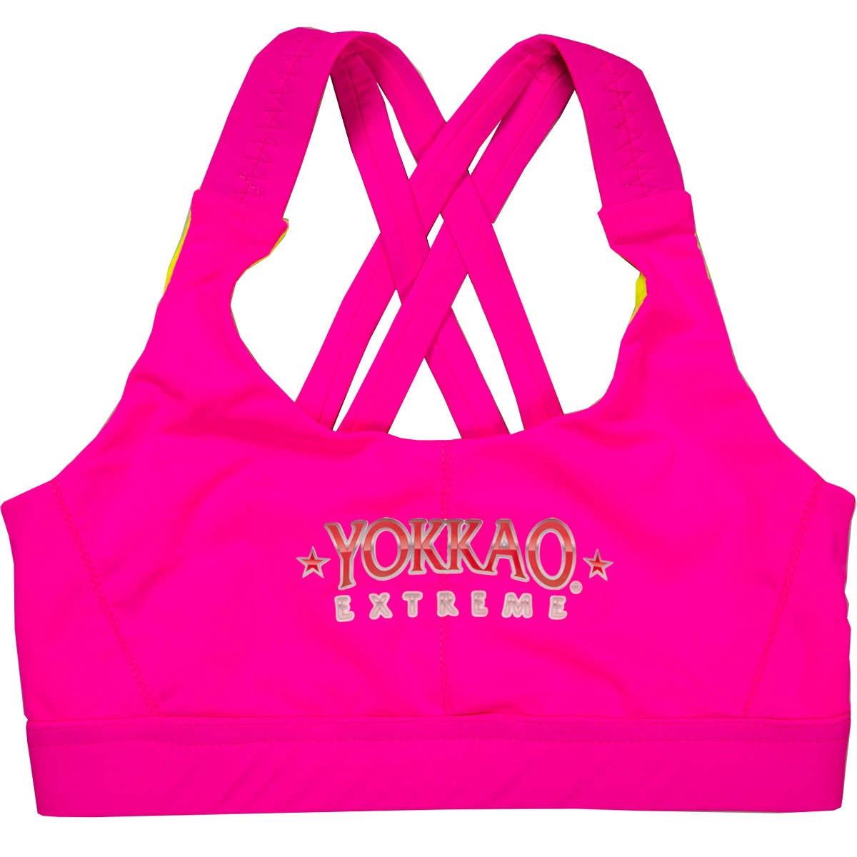 yokkao-extreme-ladies-sports-bra-fluo-pink-42e