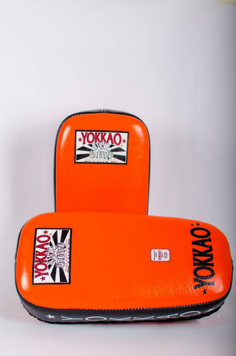 yokkao-pro-kicking-pads-orange-f76215