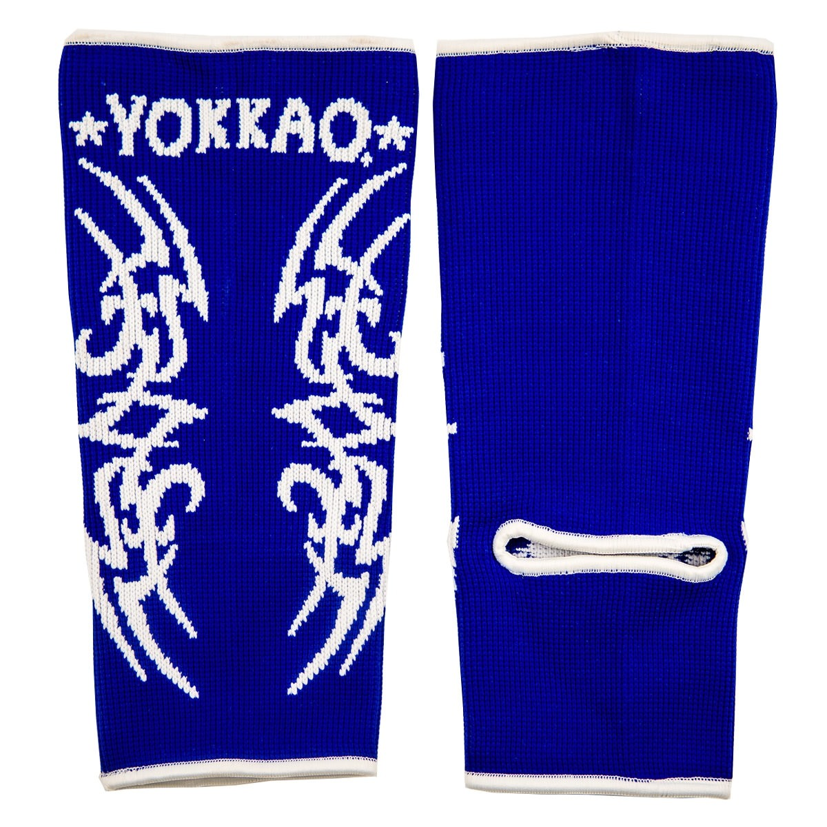 yokkao-tribal-muay-thai-ankle-guards-blue-dbb