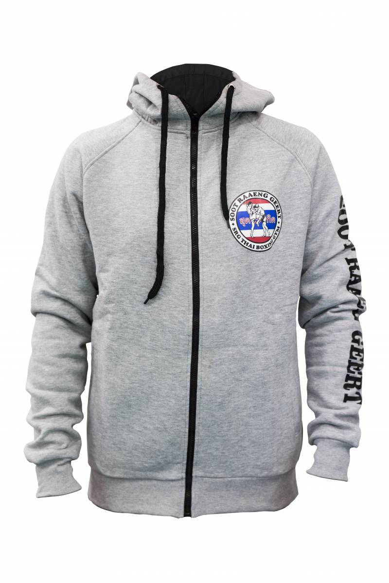 SRG Hoodie Grey Front