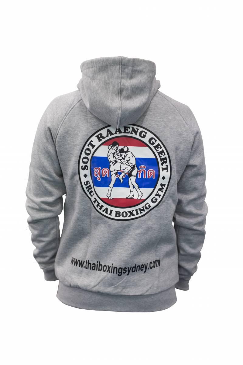 SRG Hoodie Grey back